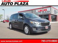 Options:  2017 Kia Sedona Lx|Lx 4Dr Mini-Van|3.3L|6