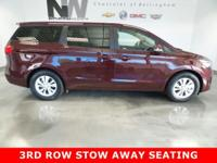 3RD ROW STOW AWAY SEAT,POWER SLIDING SIDE DOORS,HEATED