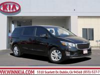 You NEED to see this van! The Winn Kia Advantage! Your