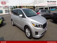 ~~ 2017 Kia Sedona LX ~~ CARFAX: 1-Owner, Buy Back