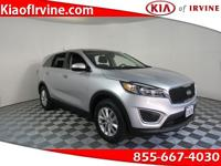 This 2017 Kia Sorento LX is Kia Certified with a 10yr