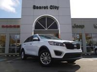 CARFAX One-Owner. Clean CARFAX. White 2017 Kia Sorento