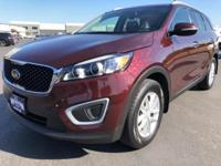 CARFAX One-Owner. 2017 Kia Sorento LX Maroon One Owner,