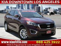 CARFAX One-Owner. Clean CARFAX. Sangria 2017 Kia