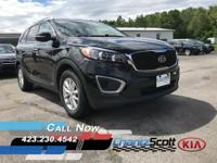 Certified Vehicle! This 2017 Kia Sorento LX V6 will