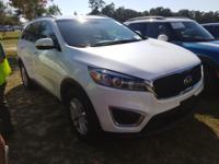 Snow White Pearl 2017 Kia Sorento LX AWD 6-Speed