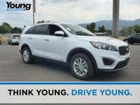 2017 Kia Sorento LX. AWD. Delivers straight up traction