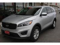 V6, All Wheel Drive, 3rd Row Seat, Backup Camera. Kia