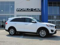 CARFAX 1-Owner. LX V6 trim, SNOW WHITE exterior and