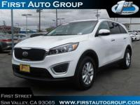 New Arrival! This Kia Sorento is Certified Preowned!