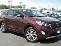 . CARFAX 1-Owner. DARK RED exterior and GRAY interior,