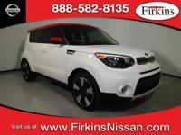 CARFAX One-Owner. Clean CARFAX. White 2017 Kia Soul