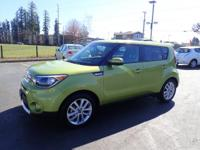 CARFAX One-Owner. 2017 Kia Soul Plus Green One Owner,