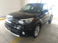 EPA 30 MPG Hwy/25 MPG City! + trim, BLACK exterior and