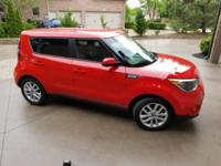 Inferno Red 2017 Kia Soul Plus FWD 6-Speed Automatic