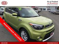 Look at this 2017 Kia Soul +. Its Automatic