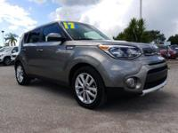 CARFAX One-Owner. Clean CARFAX. Titanium Gray 2017 Kia