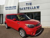 2017 Kia Soul Plus Inferno Red 6-Speed Automatic with