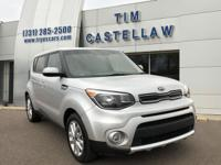 2017 Kia Soul Plus Bright Silver 6-Speed Automatic with