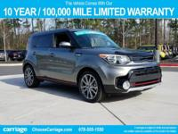 2017 Kia Soul Exclaim in Titanium Gray, Comes with our