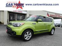 Recent Arrival! 2017 Kia Soul Green CARFAX One-Owner.