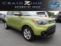 CarFax 1-Owner, LOW MILES, This 2017 Kia Soul Base will