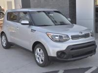 Silver 2017 Kia Soul FWD 6-Speed Automatic with
