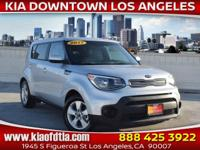 CARFAX One-Owner. Clean CARFAX. White 2017 Kia Soul 4D