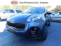 New Price! 2017 Kia Sportage LX Blue AWD. Buy your next
