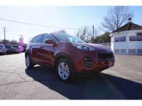 2017 Kia Sportage LX Red New Price! Accident Free/One