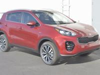 Red 2017 Kia Sportage EX AWD 6-Speed Automatic 2.4L I4