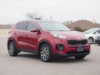 CARFAX One-Owner. Clean CARFAX. Hyper Red 2017 Kia