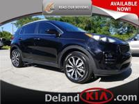 This outstanding example of a 2017 Kia Sportage EX is