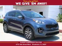 2017 Kia Sportage EX 29/22 Highway/City MPG  Options: