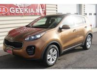 All Wheel Drive, Well Equipped Sportage LX. Kia
