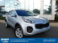 Options:  2017 Kia Sportage Lx|Mineral Silver/Gray|V4