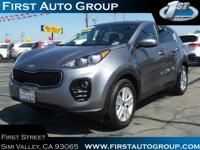 PREMIUM & KEY FEATURES ON THIS 2017 Kia Sportage