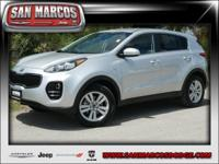 Options:  2017 Kia Sportage Lx|Silver/Gray|V4 2.4 L