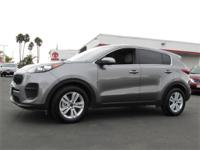 Options:  2017 Kia Sportage Lx Fwd|This Vehicle Has A