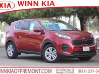 New Price! *BLUETOOTH*, *BACK UP CAMERA*, Sportage LX,
