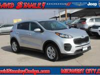 CARFAX One-Owner. Clean CARFAX. Silver 2017 Kia