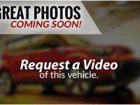 Options:  3.064 Axle Ratio|17 Alloy Wheels|Cloth Seat