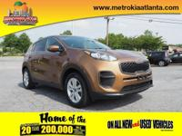 Don't miss out on this 2017 Kia Sportage LX! It comes