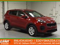 This outstanding example of a 2017 Kia Sportage LX is