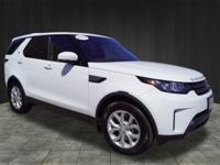 Clean CARFAX. Certified. Fuji White 2017 Land Rover