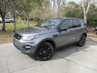 This 2017 Land Rover Discovery Sport 4dr HSE Luxury AWD