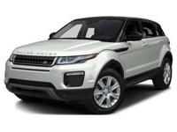 2017 Range Rover Evoque SE Premium. This New Range
