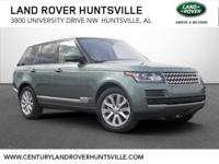 2017 Land Rover Range Rover HSE Factory MSRP: $100,036