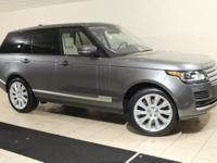 2017 Range Rover HSE in Corris Grey and Almond Interior