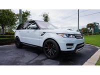 This 2017 Land Rover Range Rover Sport is featured in